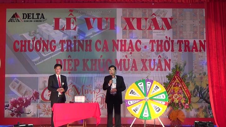 13.1 Ong Truong Tuan An - TM cho lanh dao Huyen uy, UBND, HDND huyen Hoang Hoa Chuc mung nam moi den toan the CBCNV cong ty