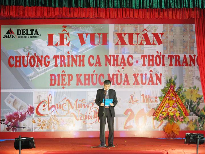 6 Thay mat HDQT, Ban TGD. Ong NTT phat bieu chuc mung nam moi