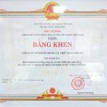 20120612 Bang khen Thu tuong chinh phu