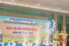 Lễ khai giảng năm học mới của Trường mầm non Họa Mi Delta
